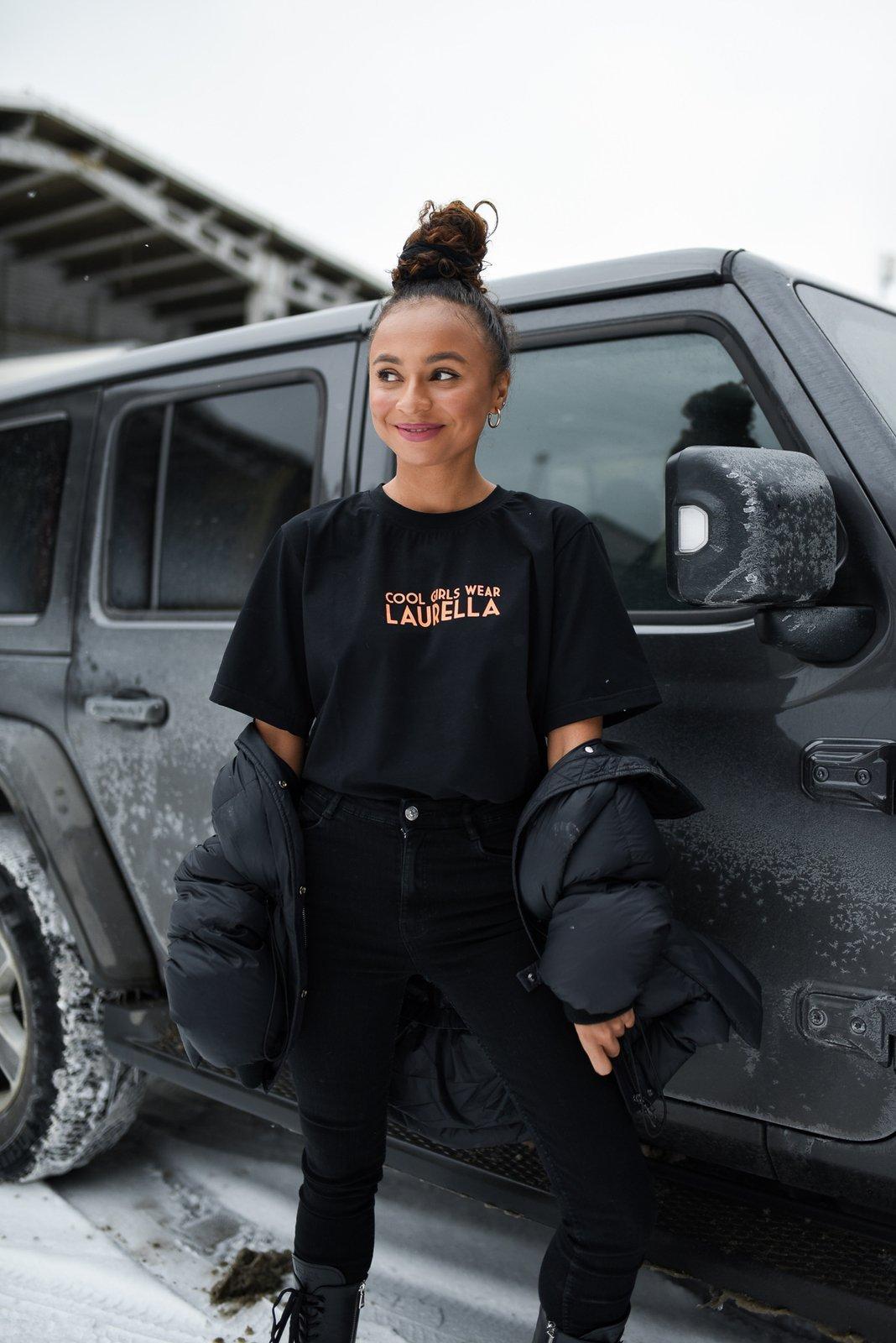 CHEAP Noel Black T-shirt 28617024053 – Women's Tops