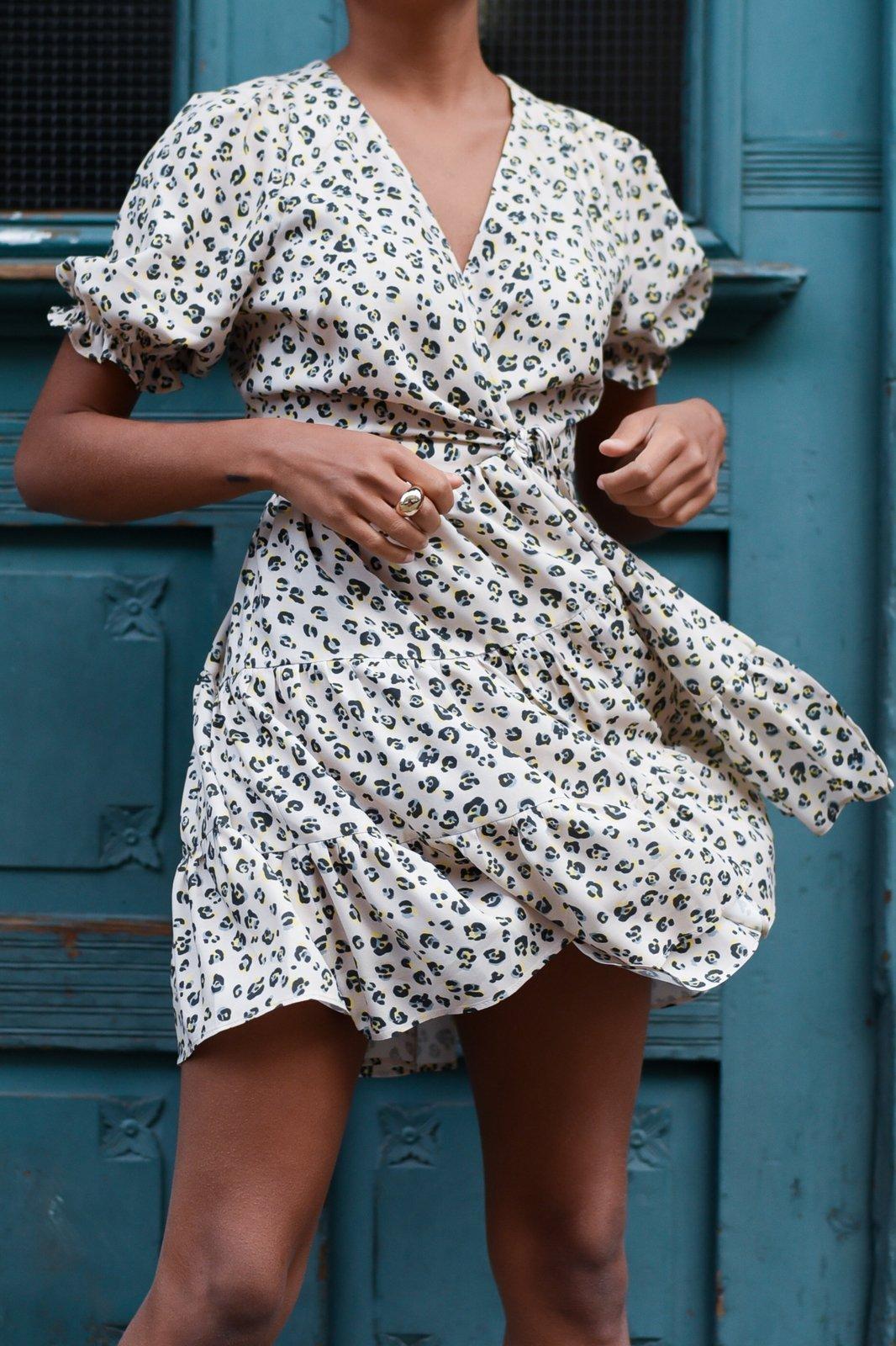CHEAP Layla Leopard Dress 28617024013 – Women's Dresses & Skirts