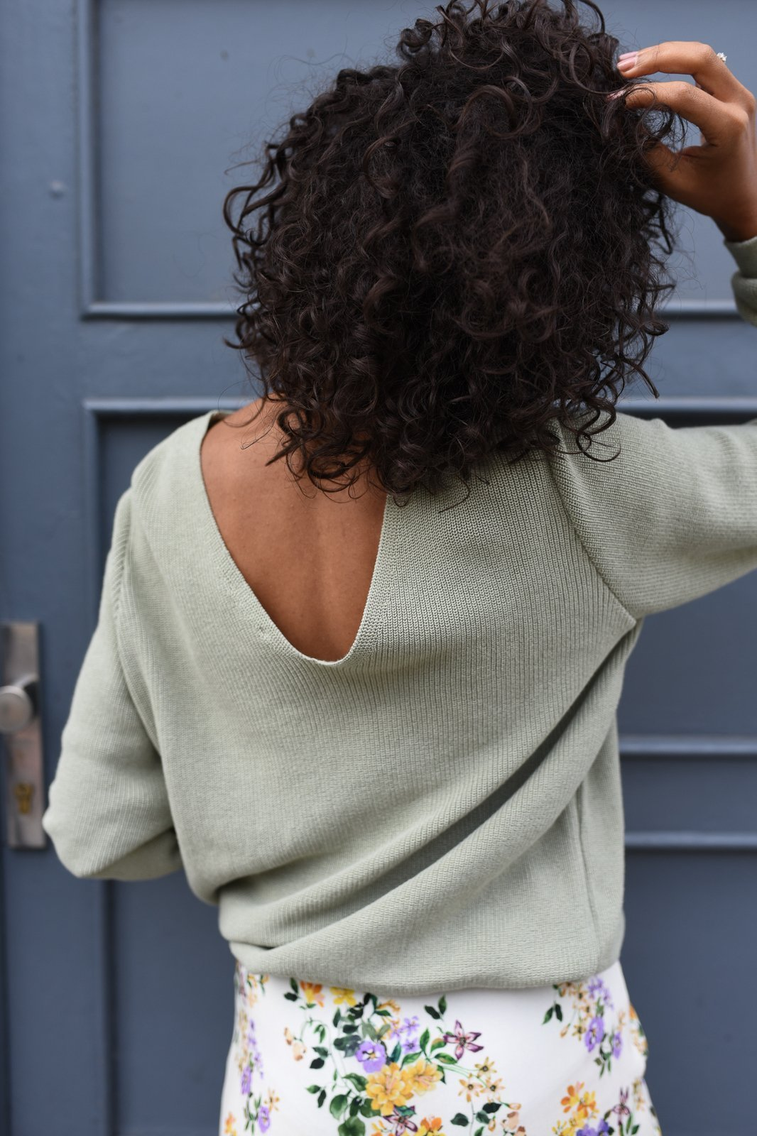 CHEAP Bari Khaki Sweater 28617023875 – Women's Tops