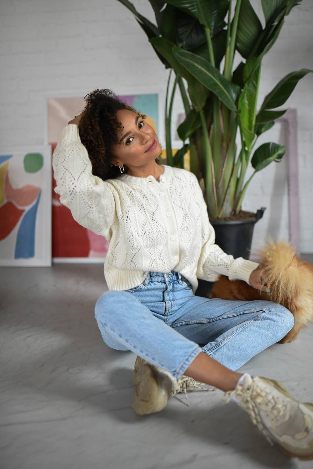CHEAP Maila Cream Sweater 28617024185 – Women's Tops