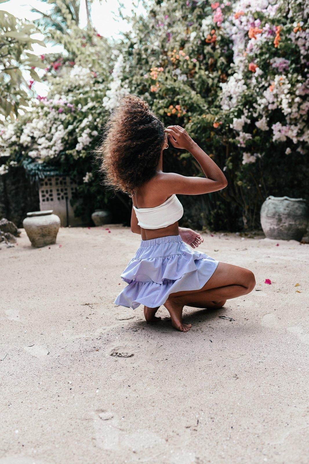 CHEAP Naya Lavender Skirt 28617024017 – Women's Dresses & Skirts