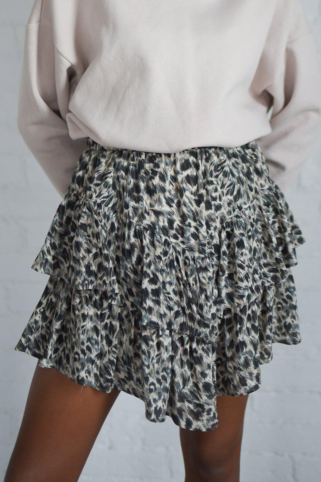 CHEAP Saline Fuzzy Skirt 28617024021 – Women's Dresses & Skirts
