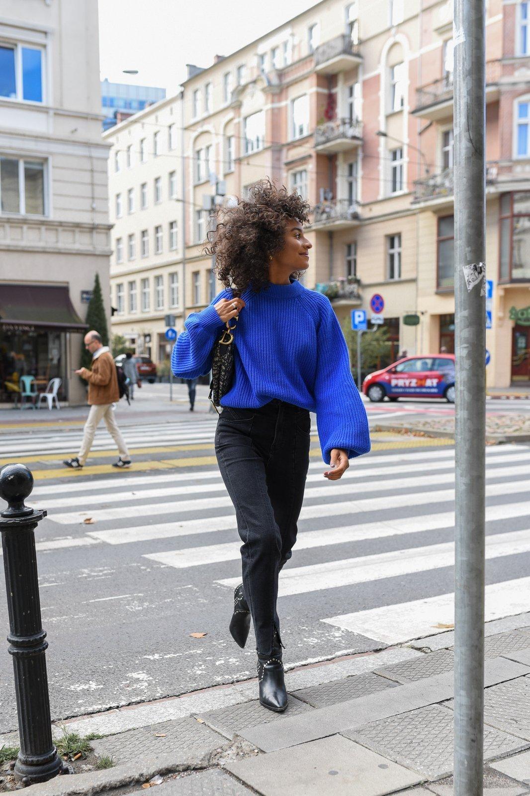 CHEAP Sasha Cobalt Sweater 28617023881 – Women's Tops
