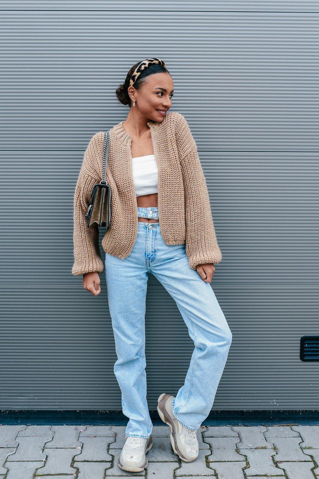 CHEAP Shelly Caramel Sweater 28617023965 – Women's Tops