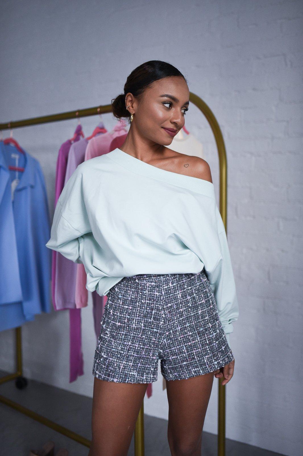 CHEAP Hally Gray Shorts 28617023991 – Women's Trousers