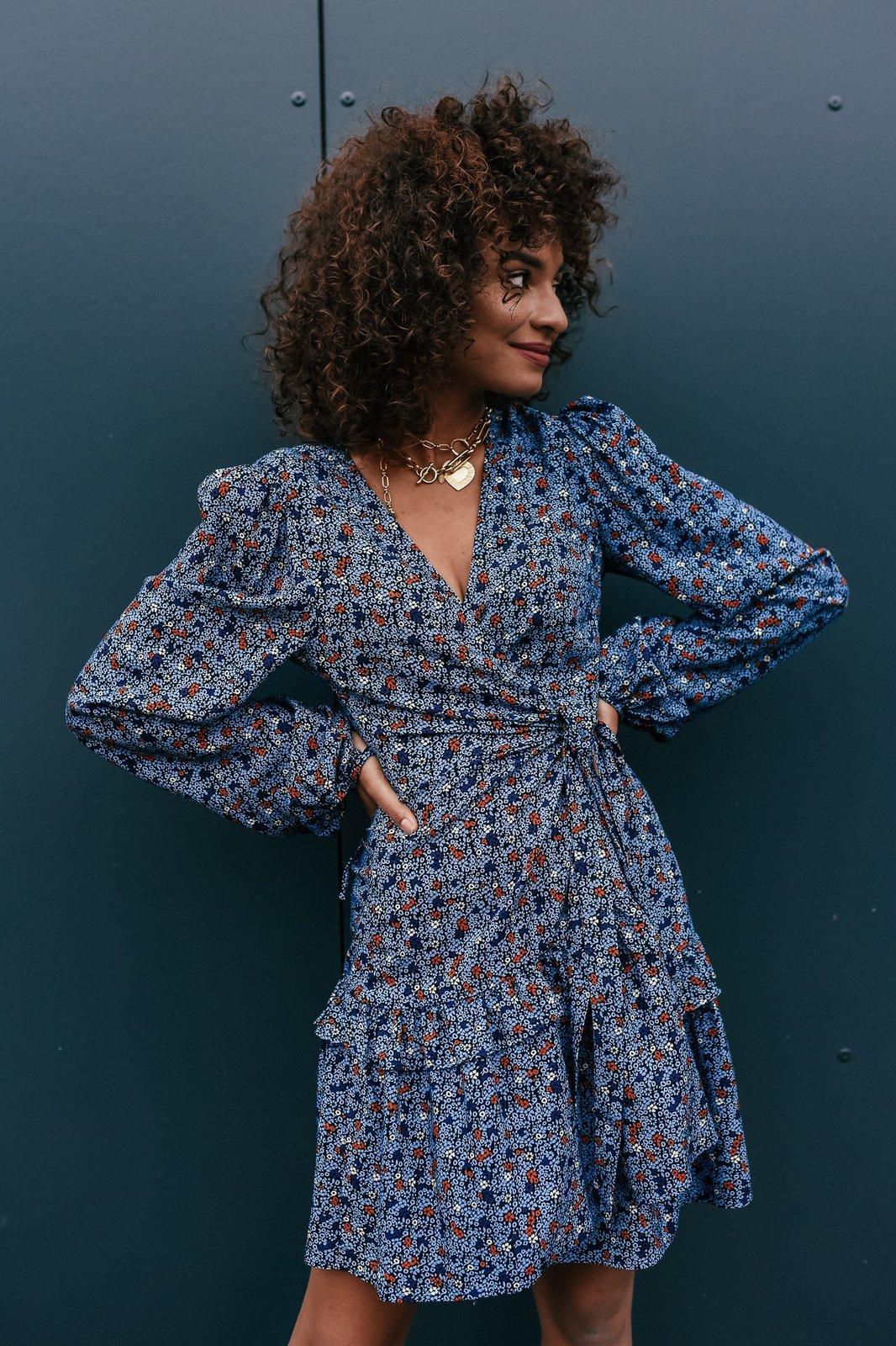 CHEAP Ellen Blue  Dress 28617023951 – Women's Dresses & Skirts