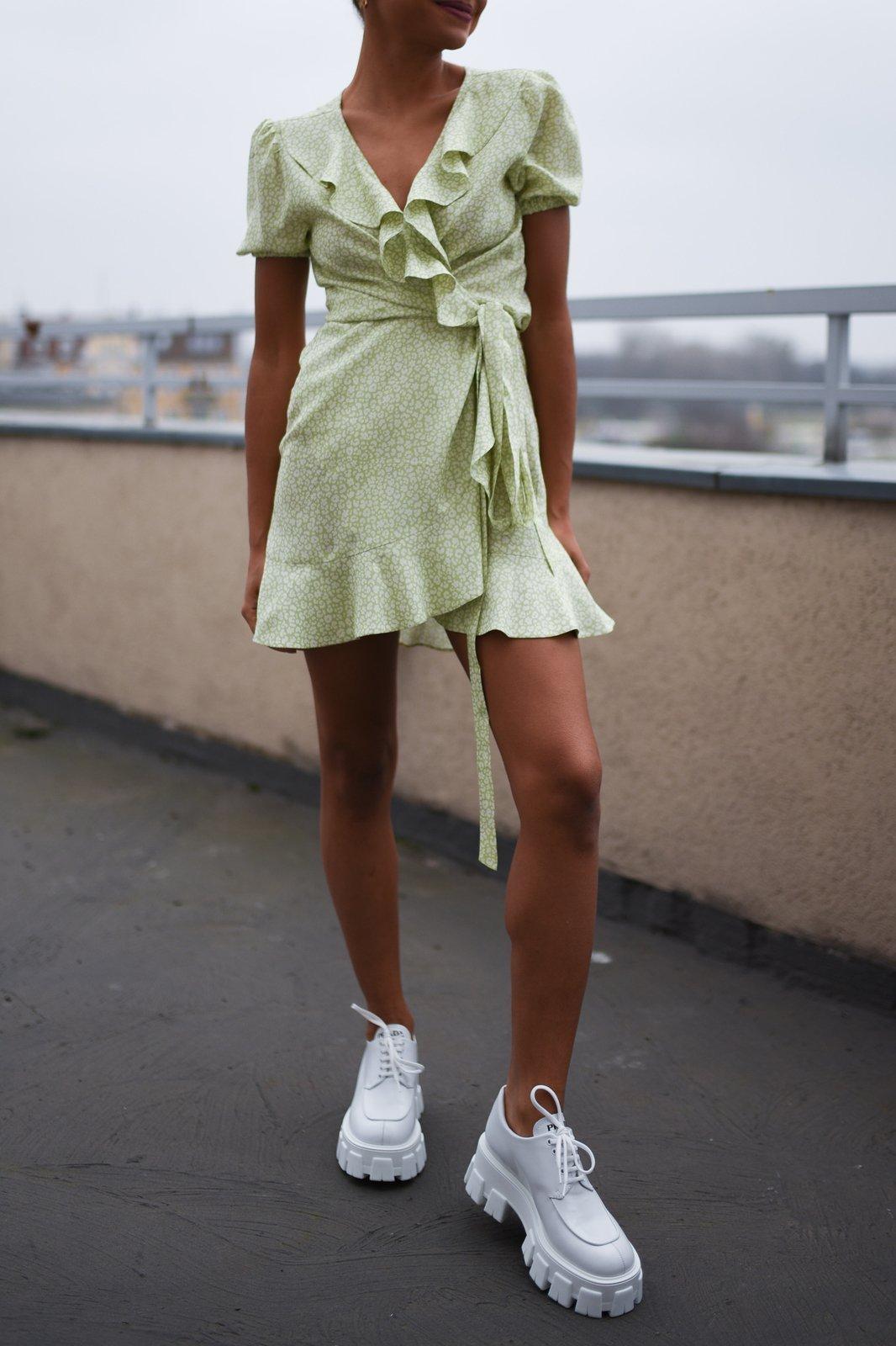 CHEAP Charlotta Green Dress 28649057997 – Women's Dresses & Skirts
