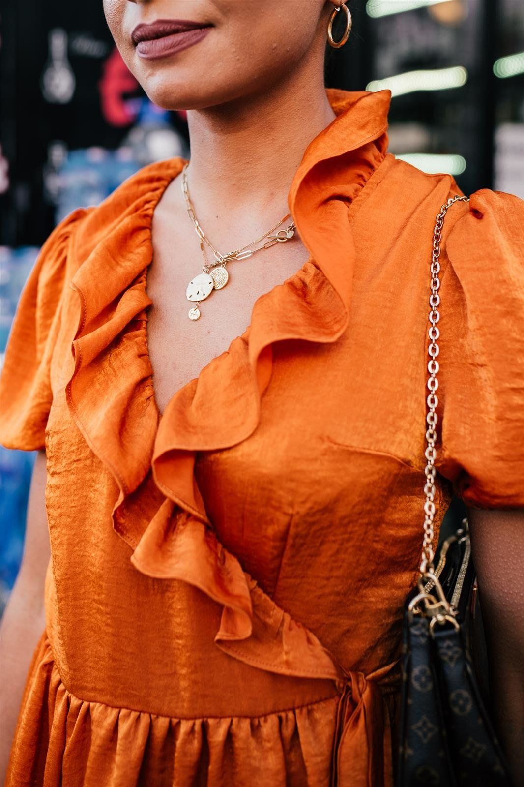 CHEAP Yasmine Orange Dress 28617023837 – Women's Dresses & Skirts