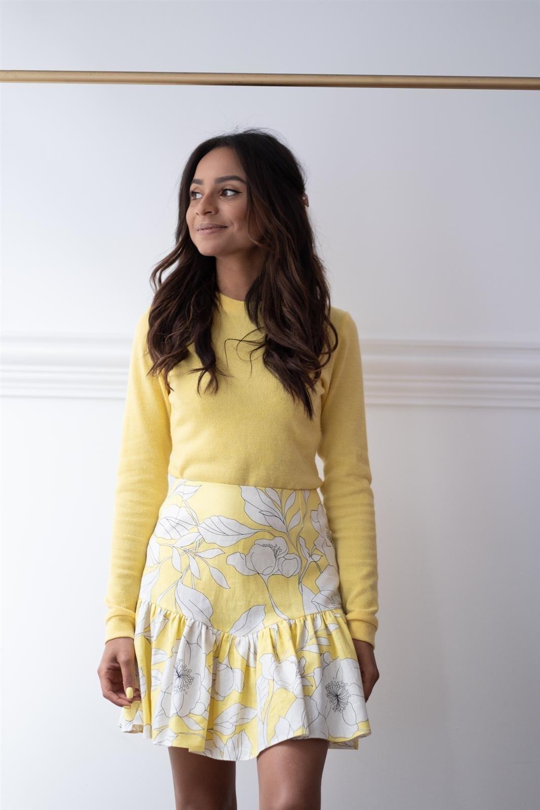 CHEAP Maya Yellow Skirt 28617023813 – Women's Dresses & Skirts