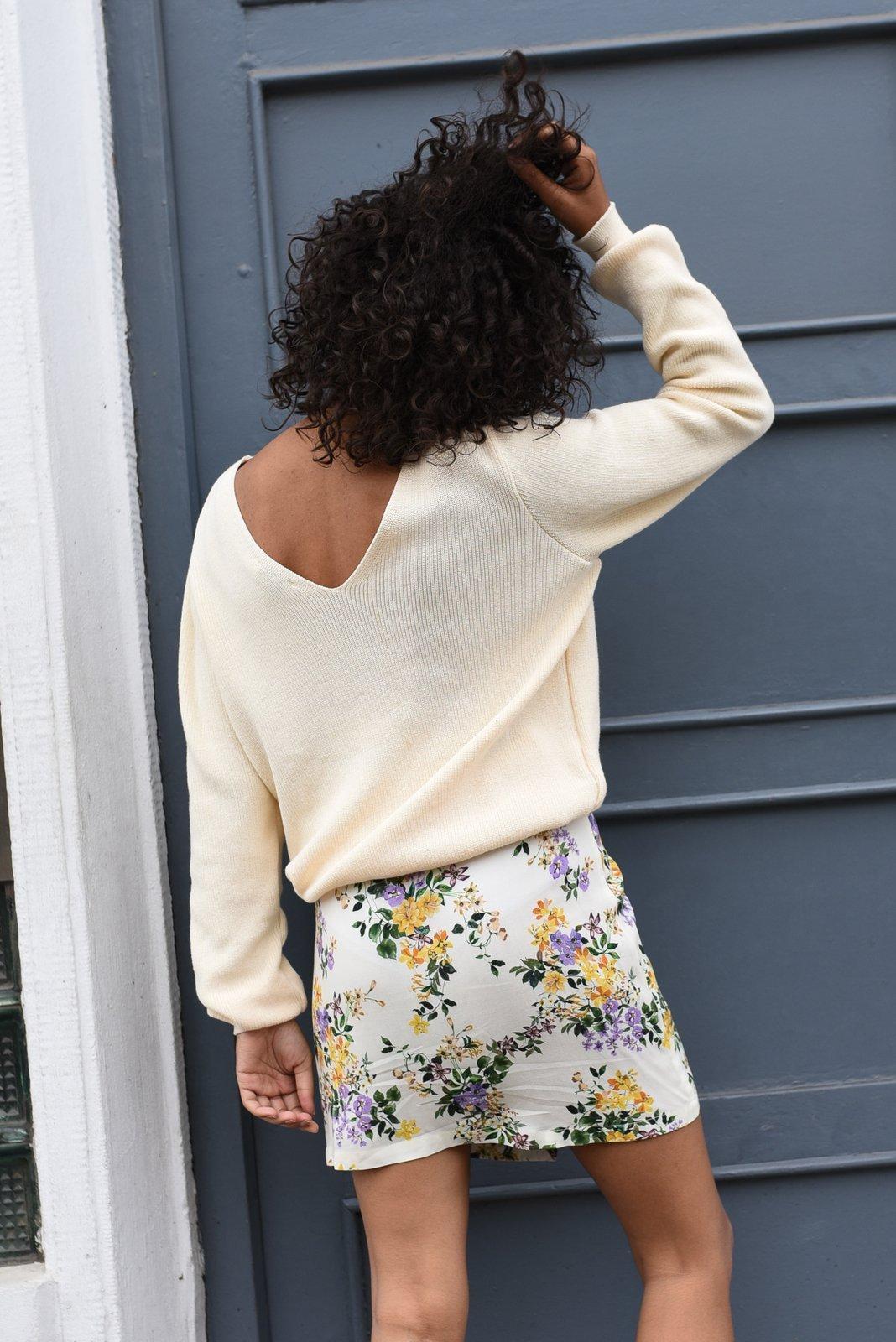 CHEAP Bari Cream Sweater 28617023861 – Women's Tops