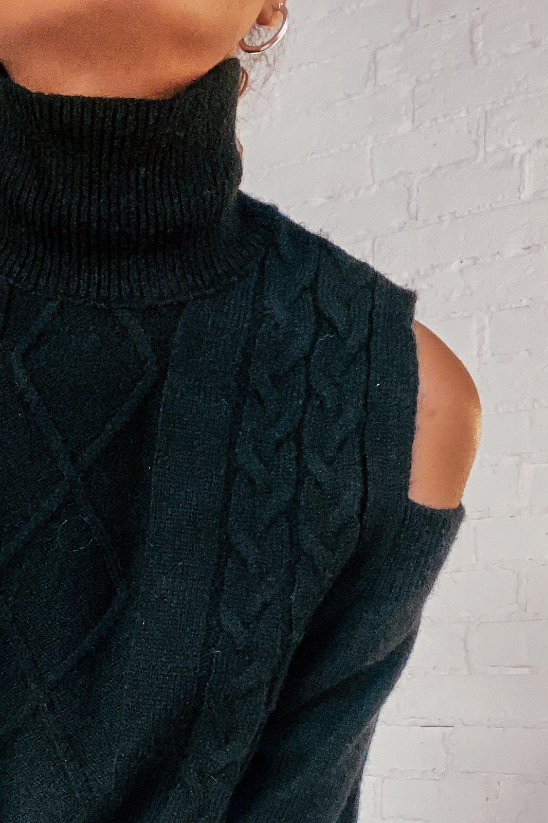 CHEAP Aspen Black Sweater 28617023963 – Women's Tops