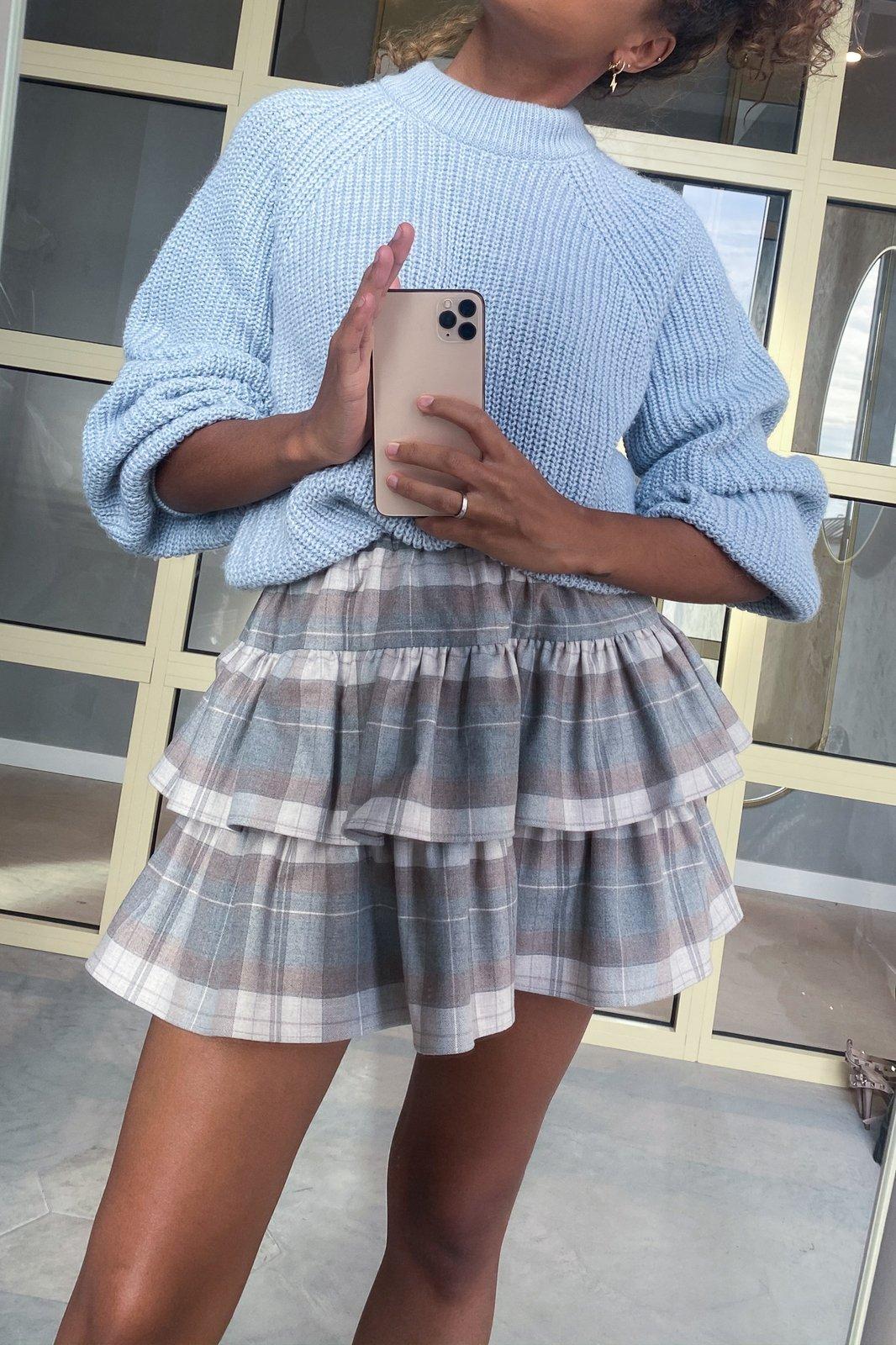 CHEAP Naya Gray Skirt 28617023995 – Women's Dresses & Skirts