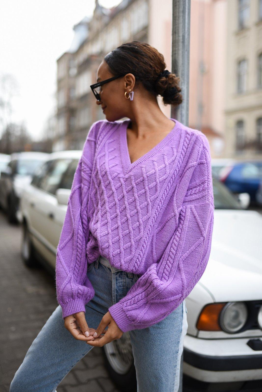 CHEAP Alexa Violet Sweater 28617024143 – Women's Tops
