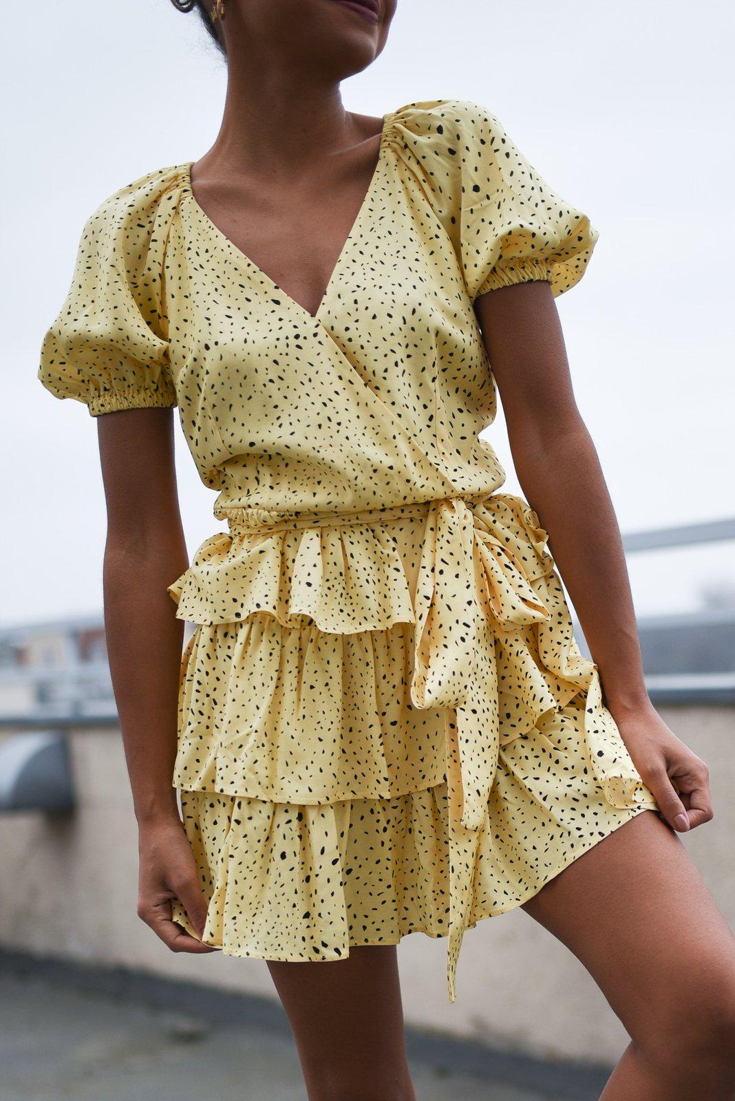 CHEAP Ganda Yellow Dress 28635026083 – Women's Dresses & Skirts